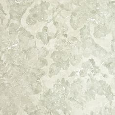 Carrera Floral Wallpaper Contemporary Damask wallpaper with layered marble effect in grey and linen.
