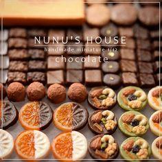 Nunu's house chocolate miniatures