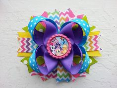 My Little Pony Rainbow Chevron Inspired by DLovelyBOWtique on Etsy, $10.50