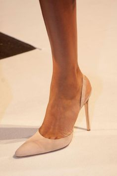 Altuzarra, New York: now this is a woman's shoe. A Marcia Gay Harden shoe.