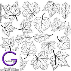 "Sheet Dimensions: (4 inches x 4 inches) Tree Leaves Variety Dimensions: Contains several sizes of several different Tree leave designs Perfect for Autum or Fall creations. Maple Leave, """"OAk, Leaves"