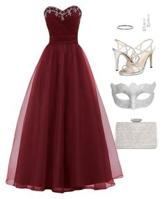 """""""Masquerade"""" by algodaodoce9 ❤ liked on Polyvore featuring Caparros, H&M, women's clothing, women, female, woman, misses and juniors"""