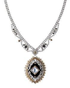 Juicy Couture   Rhinestone Pendant Necklace