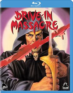 DRIVE-IN MASSACRE ALT COVER ART BLU-RAY (SEVERIN FILMS)