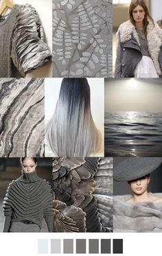 GREY SCALE | pattern curator 2016 and 2017 forecast colors