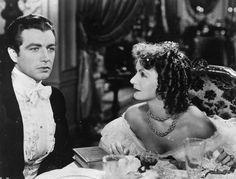 "Greta Garbo & Robert Taylor in ""Camille""1936"