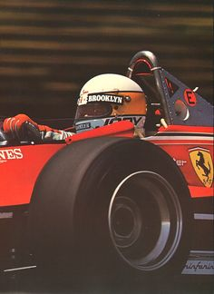 1979 F1 World Champion. Jody Scheckter.