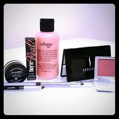 Bundle for aslone70 All items new & unused EXCEPT Clinique blush and L'Oreal cream liner (see pics) Makeup