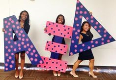 alpha xi delta   sorority sugar // I painted these!! ❤️