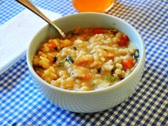 Tonight's Dinner: Chicken and rice soup recipe