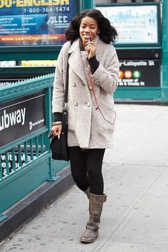 Layered outfits for winter - click for 30+ we love