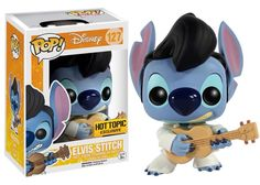 Funko Pop Disney: Lilo & Stitch - Elvis Stitch Exclusive Vinyl Figure