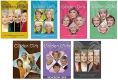 Golden Girls Seasons 1-7 DVD My daughter Melissa bought me the first 3 seasons.