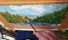 August 2020 Painting Workshop at Meeting of the Waters - Avoca Studio Gallery Painting Workshop, Birds, Studio, Gallery, School, Water, Gripe Water, Roof Rack, Bird