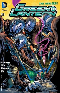 Green Lantern (2011) #26 #DC #GreenLantern #New52 (Cover Artist: Billy Tan)