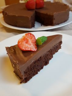 Slik, Chocolate Cakes, What's Cooking, Dessert Recipes, Desserts, What To Cook, Brownies, Cheesecake, Mad