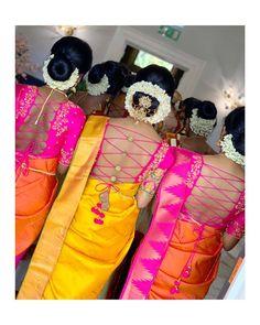 Make a style statement. Bride and the bride gang in Paroksha signature ensemble back-string Blouse! 27 September 2019