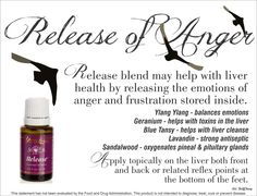 Release your anger with this unique blend.