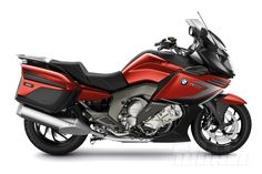 A little more sport, a bit less tour? 2014 BMW K1600GT will be available with a Sport package.