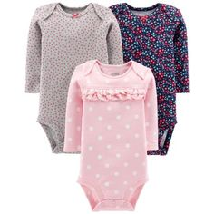 556ea29718 Child of Mine by Carter s - Long Sleeve Bodysuits