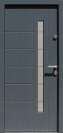 Drzwi zewnętrzne nowoczesne model 475,14+ds11 w kolorze jasno szare
