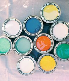 Bold and Bright --Sherwin Williams palette... love it!
