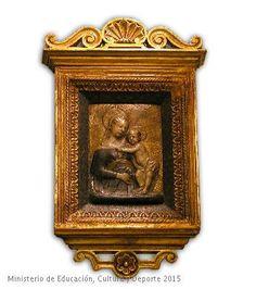 Relieve de la Virgen y el Niño. CE01401