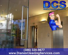 Diane's Cleaning Services strives to properly care for your facility or office. Diane's Cleaning Services delivers commercial cleaning services to all types of environments. www.dianescleaningservices.com | (386) 320-9677 | www.facebook.com/DianesCleaningServices | plus.google.com/u/0/112544379111209294842/posts?hl=en | twitter.com/Diane_sCleaning | dianescleaningservices.tumblr.com