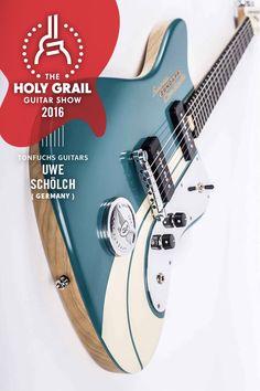 Exhibitor at The Holy Grail Guitar Show 2016: Uwe Schölch, Tonfuchs Guitars, Germany www.tonfuchs.com https://www.facebook.com/tonfuchsguitars/?fref=ts