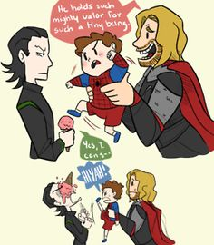 Super Uncles Thor and Loki