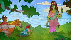 Earth Goddess, Interactive Stories, Image C, Mother Goddess, Worship, Dragon, Hero, King, Dragons