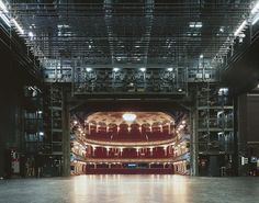 Klaus Frahm Takes Photos Of Theaters From The Stage