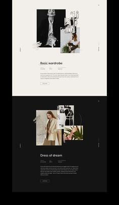Simple Design - Simple and elegant website design layout. Love how the photos pop on the black background. Banner Web Design, Layout Design, Design De Configuration, Website Design Layout, Blog Layout, Blog Design, Best Design Blogs, Web Layout, Minimal Web Design
