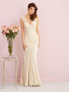 Allure Bridals 2758, $699 Size: 12 | Sample Wedding Dresses