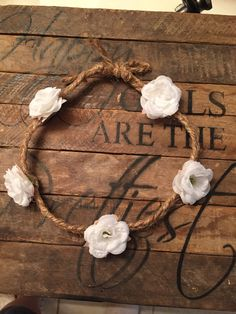 Tiny rose flower crown / twine flower crown / baby flower crown / infant flower crown / adult flower crown / bridesmaid / flower girl