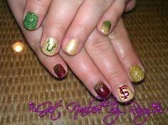 football nails USF FSU  www.GetNailedByRoxy.com