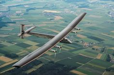 World's first solar-powered plane for the future