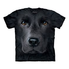 Utilising amazing 3-D imaging, these top quality t-shirts celebrate the loveable Labrador.