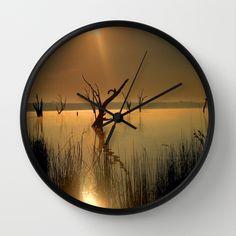 Lake, Sun, Sun Rays, Dead Trees, Australia.