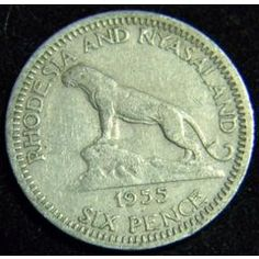 Rhodesia Old Coins, Rare Coins, Places Of Interest, Zimbabwe, Guardians Of The Galaxy, Ancestry, Flags, Colonial, South Africa