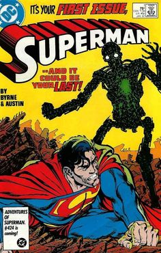 superman 1 vf/nm 1987 dc #Comics john byrne good looking copy grade-worthy from $15.0