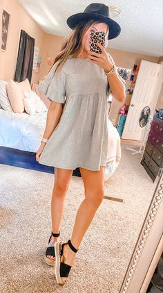 Cute Summer Outfits, Cute Casual Outfits, Simple Outfits, Spring Outfits, Girl Outfits, Fashion Outfits, Dottie Couture, Cute Fashion, Dress To Impress