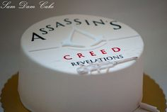 Notorious cupcakes! // assassins creed cake