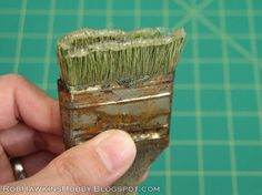 Rob Hawkins Hobby: Terrain Tutorial: Swamp Grass
