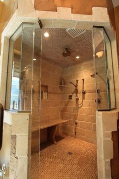 8 Magical Cool Tips: Shower Remodel Ideas Renovation fiberglass shower remodel on a budget.Walk In Shower Remodel Built Ins shower remodel ideas gray. Dream Bathrooms, Dream Rooms, Beautiful Bathrooms, Small Bathrooms, Chic Bathrooms, Dream Shower, Big Shower, Double Shower, Large Shower
