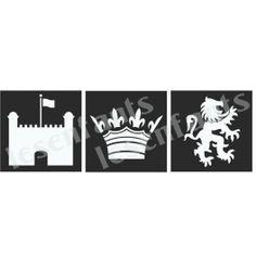 Prince Graphics Trio Stencil