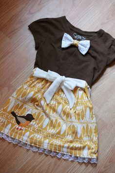 Yet another upcycle for my wee one! - CLOTHING
