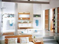 30 Beautiful and Relaxing Bathroom Design Ideas #bathroom #interior