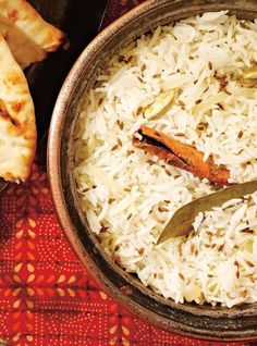 Recipe of Ricardo rice pilaf with spices by Rice Recipes, Indian Food Recipes, Cooking Recipes, Recipies, Quinoa Grain, Spiced Rice, Ricardo Recipe, Spicy Dishes, Vegetable Side Dishes