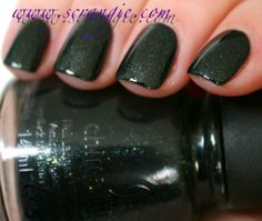China Glaze:  Smoke and Ashes (The Hunger Games Capitol Colors Collection)